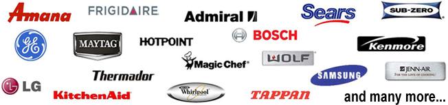 Brands We Repair In Orange County